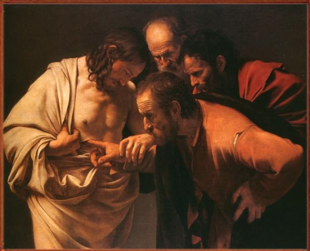 La incredulidad de Santo Tomas (Caravaggio)
